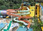 Wholesale Related Products: Famlily Swimming Pool Water Slides FRP 2-14 Visitors For Holiday Resort