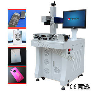 Wholesale batch charging machine: Metal Fiber Laser Marking Machine for Engraving Metal