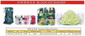 Wholesale ice block machine: Block Solid Ice Shaver Machine