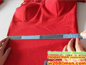 Wholesale customize wedding dress: Garment Inspection