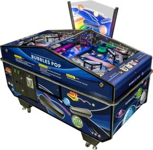 Wholesale coin dispenser: Bubbles POP Head-To-Head Pinball Machine