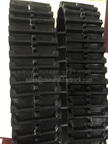 Snow Rubber Track Snowmobile Rubber Track Snow Blower Rubber Track Manufacturer