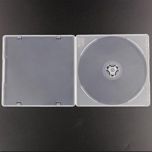 Wholesale CD/DVD Player Bags & Cases: WEISHENG Slim 5MM Frost Single CD Custom Logo Packing Storage Case