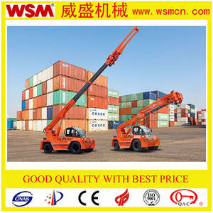 Wholesale Cranes: 12 Tons Telescopic Boom Forklift Truck for Unloading Container