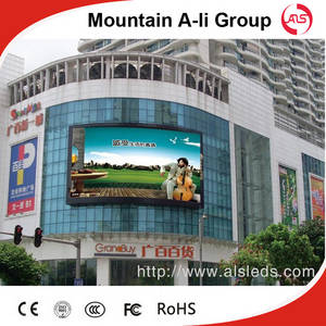 Wholesale rgb neon: Standard P10 Outdoor Full-Color LED Billboard