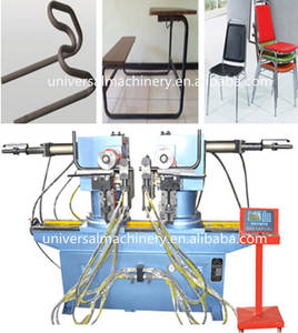 Wholesale pipe bending machine: Low Price Double Heads Pipe Bending Machine