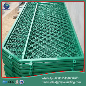 Wholesale pvc coated welded mesh: pvc coated razor welded fence razor mesh fence