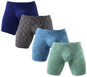 Wholesale Men's Briefs & Boxers: Men's Seamless Boxer Brief