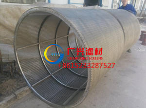 Wholesale rotary wedge wire screen: wedge wire Rotating Trommel Screens