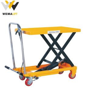 Wholesale hand hydraulic stacker: Wemalift 300kg Hydraulic Scissor Lift Table