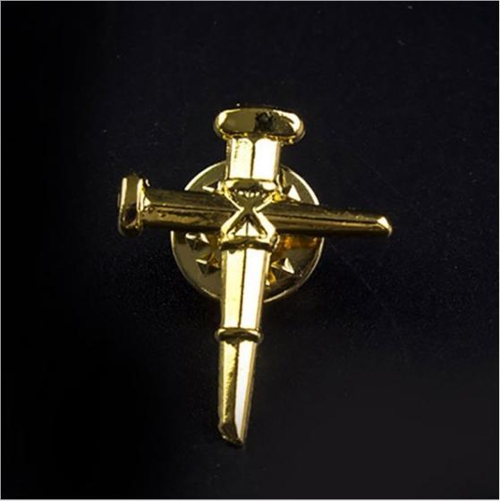 High Quality Customized Metal Christian Cross Religion Lapel PIN