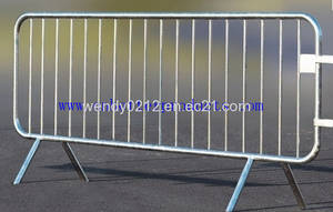 Wholesale crowd stopper barricade: Steel Crowd Control Barriers