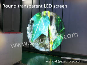 Wholesale video glasses: LED Transparent Display Glass LED Screen Window Facade LED Video Wall