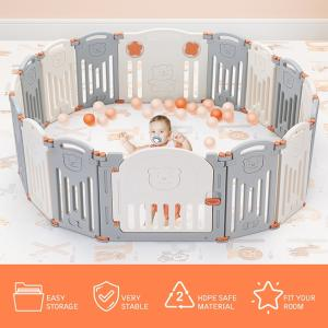 Wholesale happy kids toy: Hot Sale Happy Kids Toy Hard Plastic Kindergarten Big Size Folding Baby Playard Product Playpen