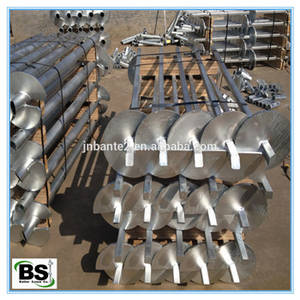 Wholesale c1020: High Quality Helical Screw Pile/Piers/Anchors