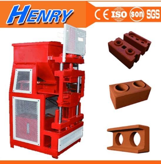 HR2-10 Automatic Earth Compressed Interlocking Block Machine Clay Brick Machine Brick Making Machine