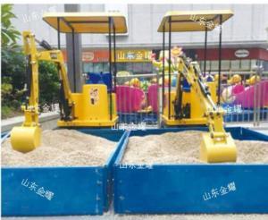 Wholesale amusement equipment: Amusement Construction Park Equipment, Kids Excavator