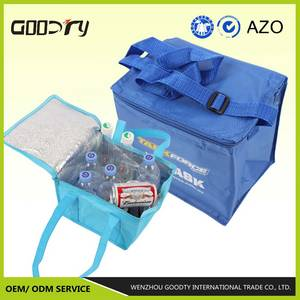 Wholesale pp bag: 2017 Laminated Nice Cheap Traveling Handle PP Woven Cooler Bags
