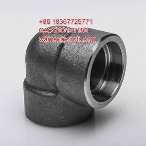 Wholesale cs elbow: #3000 Elbow MS/CS SS Steel Fittings
