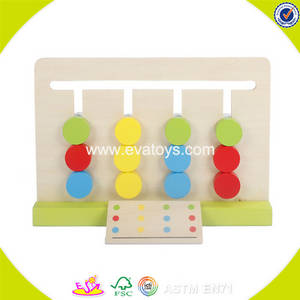 Wholesale educational learning toy: 2017 Wholesale Preschool Wooden Learning Toys for Toddlers W12F018