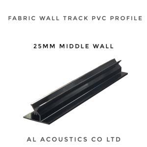 Wholesale design own: Al-Track:Fabric Wall Track (PVC Profile) Al Acoustics Own Designed