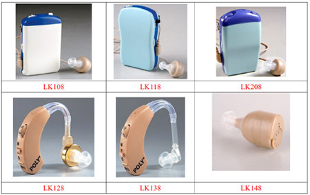 POLY Hearing Aids Body Type, BTE Type, ITE Type, Digital Type and Rechargeable Type