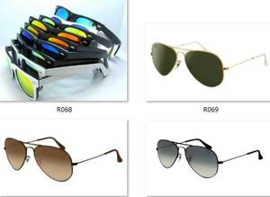 Wholesale Sunglasses: Wholesle Sunglasses Men Women Aviator Retro Vintage Rb 3025 112/19 Glasses  Ok  Gold   Glasses