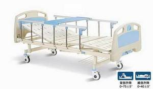 Wholesale manual hospital bed: Two Crank Manual Hospital  Bed
