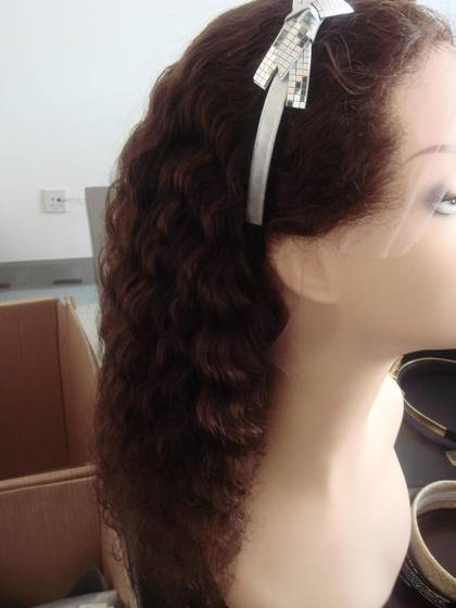 wig: Sell front lace wig, stock wavy lace wig and wholesale price