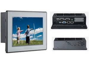 Wholesale fanless industrial pc: Fanless Industrial Touch Panel PC