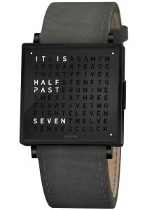 Wholesale talking watch: Qlocktwo W 35mm Black Anthracite