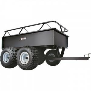 Wholesale painting: Agri-Fab ATV Tandem Axle Cart - 1000-Lb. Capacity, 14 Cu. Ft.