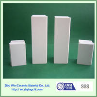 White Alumina Ceramic Lining Brick for Ball Mill