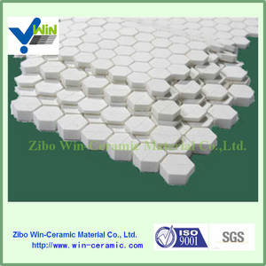 Wholesale ceramic tile price: wear Resistant Tiles Hexagon Ceramic Mosaic with Competitive Price