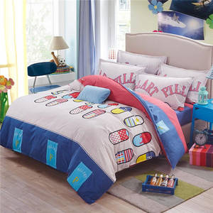 Wholesale single duvet cover: Duvetcover, Pillowcase and Bedsheets in Duvet Set
