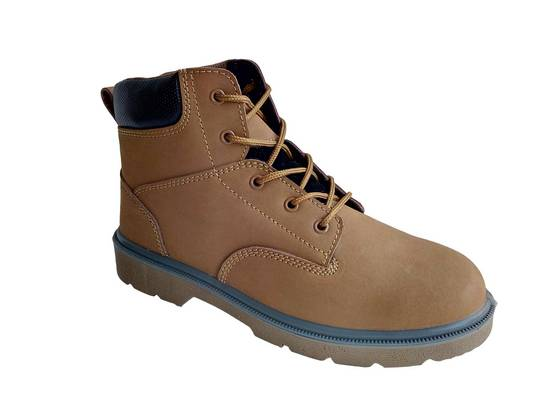 Sell steel toe safety shoes with suede leather
