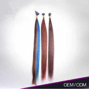 Wholesale Hairdressing Supplies: Most Popular I Tip Heathy 100% Remy Human Hair Keratin Tape Hair Extension