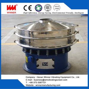 Wholesale food waste drying machine: Rotary Vibration Sieve, Small Vibrating Sieve of WINNER