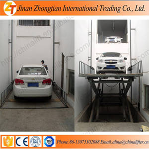 Wholesale hydraulic cargo lift: Hydraulic Scissor Lift Car Lift Cargo Elevator with Large Loading Capacity