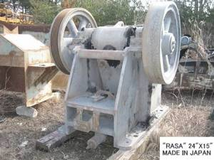Wholesale japanese: USED RASA (24 X 15) Single Toggle JAW CRUSHER S/NO. C-4980