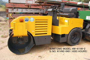Wholesale Rollers: USED SUMITOMO MODEL HW-41VW-2 VIBRATING COMBINED ROLLER