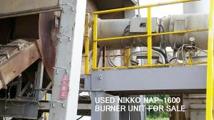 Wholesale dryer: USED NIKKO NAP-1600 BURNER UNIT and DRYER ASS'Y