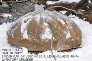 Wholesale caps: Used Spider Cap of Kobe Allis-chalmers Gyratory Crusher