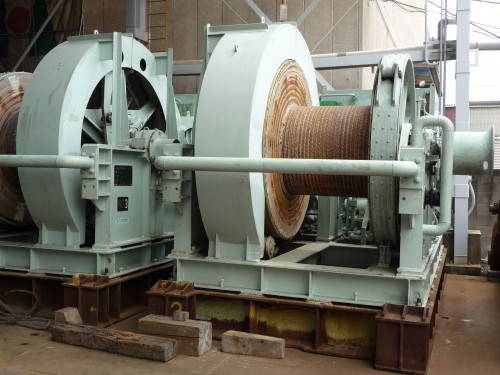 4 Units of Used NITCHITSU Winches and ONE REMOTE CONTROLLER