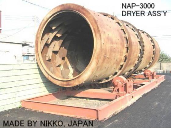Used NIKKO Dryer Ass'y for Asphalt Plant