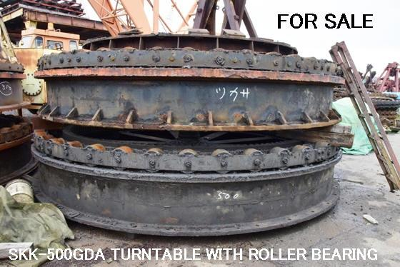 USED TUKASA SE400LGP & OTHER MODELS of TURNTABLE with ROLLER BEARING