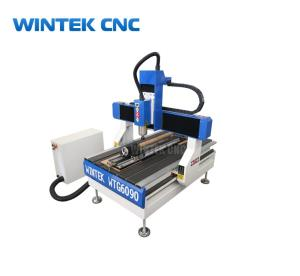 Wholesale press ball making machine: Hobby 4 Axis 6090 CNC Router Machine with Rotary