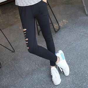 Wholesale Pants, Trousers & Jeans: Quick Dry Newest Cutted Sexy Leggings Outfit Pants Lift Up Hip Drop Shipping