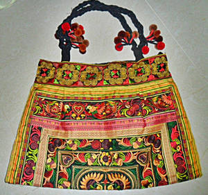 Wholesale Ethnic Garment Accessories: Tribal Handmade Bag