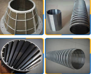 Wholesale filter cartridge metal mesh: Wedge Wire Screen